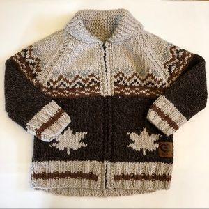 Roots Maple Leaf Sweater